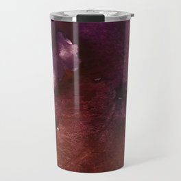 Starlight [2]: a pretty abstract watercolor piece in reds and purples by Alyssa Hamilton Art Travel Mug