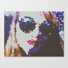 Crystal Cool Canvas Print