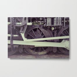 Many Wheeler Metal Print