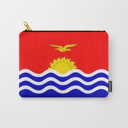 Kiribati country flag Carry-All Pouch