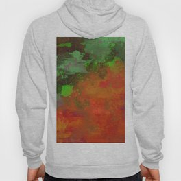 A Difference Of Opinion (Abstract painting) Hoody