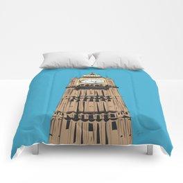 London Big Ben Comforters
