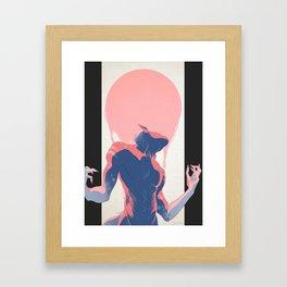 Shapeshifting Framed Art Print