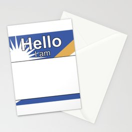 Hello I am from Marshall Islands Stationery Cards