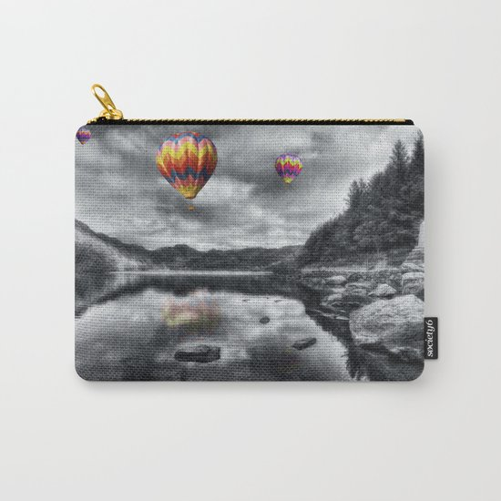 Above The Lake Carry-All Pouch
