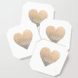 GOLD HEART Coaster