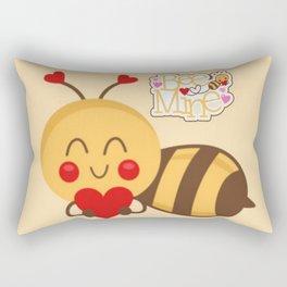 Bee Mine Rectangular Pillow