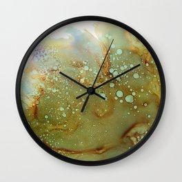 Bubbles 2016 Wall Clock