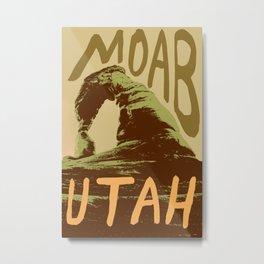 Moab - A Place in Utah Metal Print