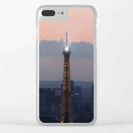 A watchful eye. Clear iPhone Case