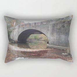 Bridge in Fall Rectangular Pillow