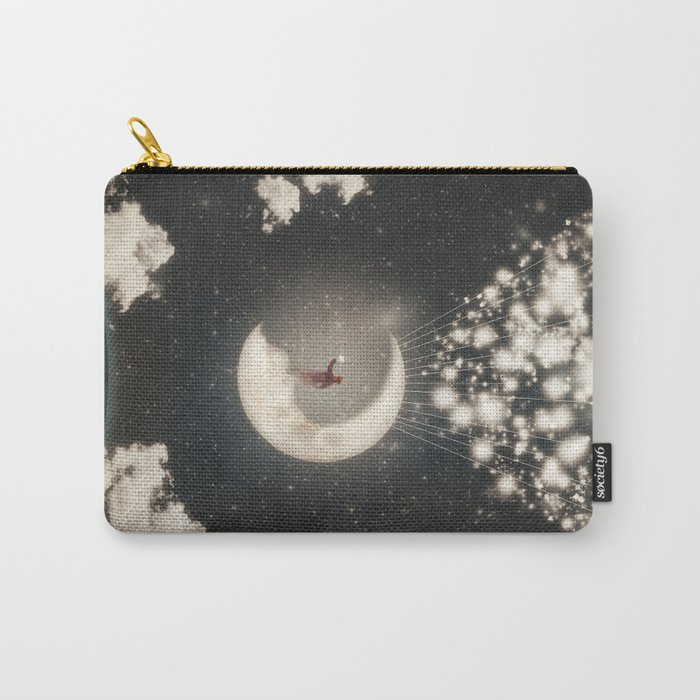 The Big Journey of the Man on the Moon  Carry-All Pouch