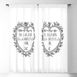Sic gorgiamus allos subiectatos nunc Blackout Curtain