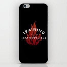 Training: Dauntless iPhone Skin