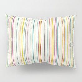 love stripe Pillow Sham