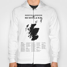 Distilleries of Scotland Hoody