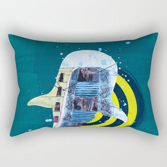terra incognita I Rectangular Pillow
