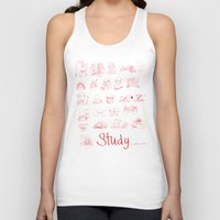 study Tank Tops featuring Study... by David Nuh Omar