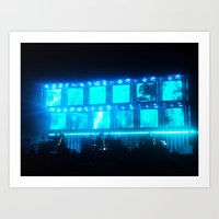 radiohead Art Prints featuring Radiohead by Rui Faria