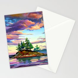 Skedans Islet Stationery Cards
