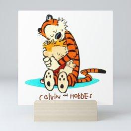 Calvin and Hobbes Mini Art Print