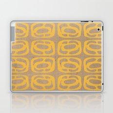 Organic Screen on Burlap Laptop & iPad Skin