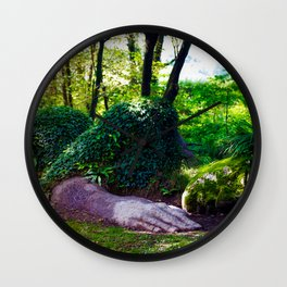 Heligan giant Wall Clock