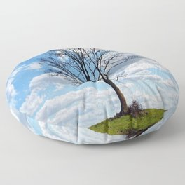 Cielo azul Floor Pillow