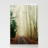 ghost Stationery Cards featuring GHOST PATH by Catspaws