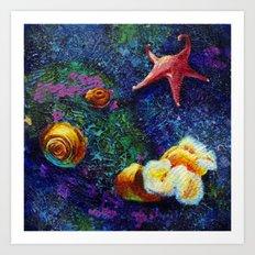 Aquatic (1 of 3) Art Print