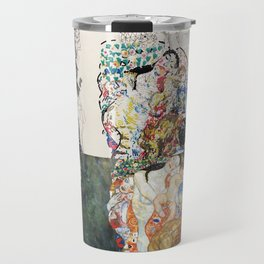 "Study of Klimt's ""Death and Life"" Travel Mug"
