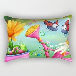Optimistic Zoom Rectangular Pillow