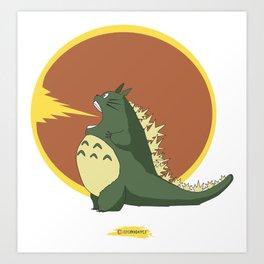 Most Feared Kaiju Art Print