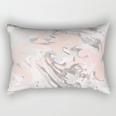 Effect Marble pink Rectangular Pillow