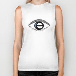 Poly Eye Biker Tank