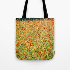 Peace and Harmony in The Colors of Sunshine Tote Bag