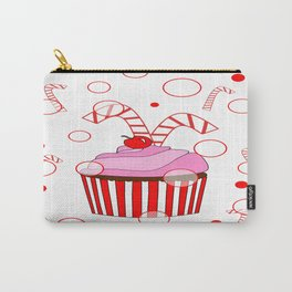 Festive Cupcake Carry-All Pouch