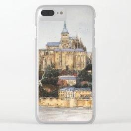 Normandy: Mont Saint-Michel Clear iPhone Case