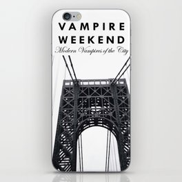 Vampire Weekend / George Washington Bridge iPhone Skin
