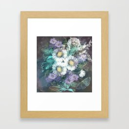 A BOUQUET OF POEMS Framed Art Print