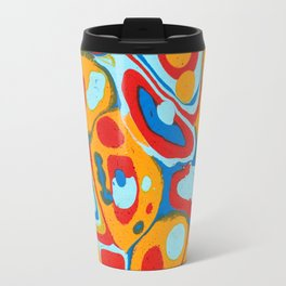 Flattened Harlequins Travel Mug