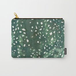 Monstera dots Carry-All Pouch