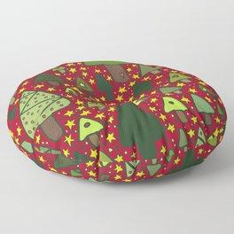 Small Trees Floor Pillow