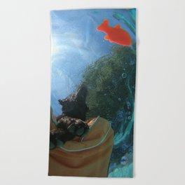 Below the Surface Beach Towel