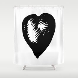 One by one Shower Curtain