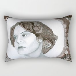 Haloed Lady For Sale!!! Rectangular Pillow