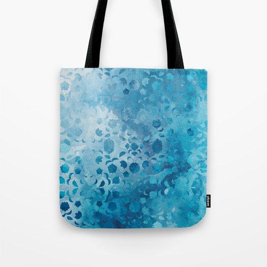 Aqua Nature Tote Bag