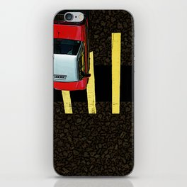 Inverted Taxi iPhone Skin