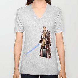 Obi-Wan Kenobi Unisex V-Neck