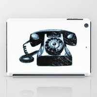 telephone iPad Cases featuring Old Telephone by Mr and Mrs Quirynen